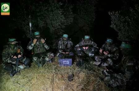 آمادگی شاخه نظامی حماس در مرزهای غزه