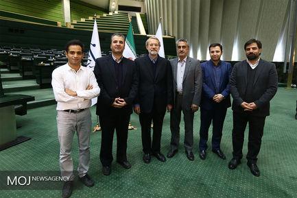 گفتگوی تلویزیونی علی لاریجانی