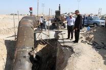 عملیات جابجایی خط انتقال اصلی تامین آب بندرعباس اجرا شد