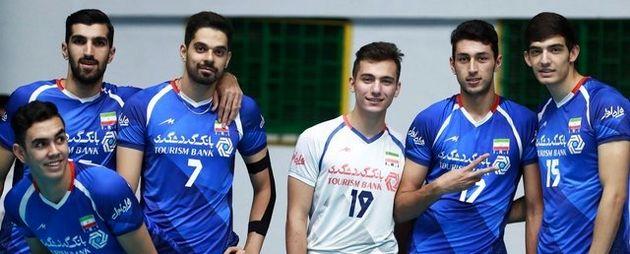 امیدهای والیبال ایران پنجم شدند