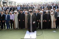 نماز عید سعید فطر به امامت مقام معظم رهبری اقامه شد
