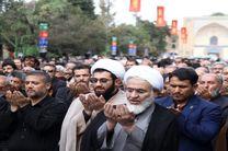 نماز جماعت ظهر و عصر تاسوعای حسینی در قزوینی اقامه شد