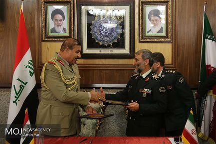 امضای تفاهم  نامه همکاری مرزی عراق و ایران