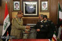 امضای تفاهمنامه همکاری ما بین مرزبانی ایران و عراق