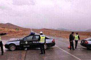 تشکیل قرارگاه خدمات انتظامی-امدادی پلیس اصفهان در سمیرم