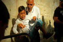 یورش صهیونیست ها به صفوف نمازگزاران فلسطینی