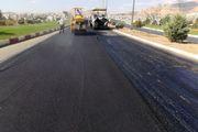 نهضت آسفالت و بهسازی معابر سنندج در مهرماه بیش از 90 هزار مترمربع