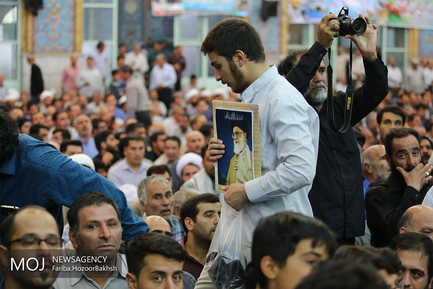 مراسم یادبود شهید مدافع حرم محسن حججی در نجف آباد