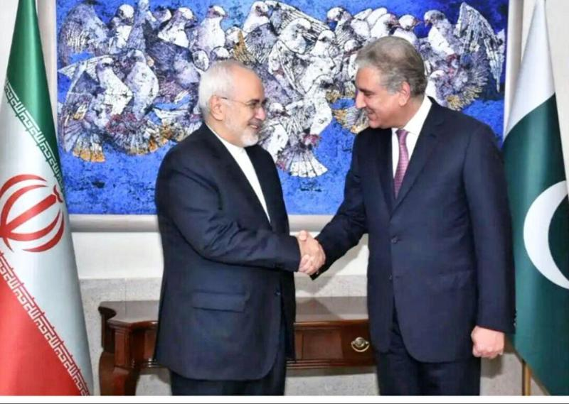 گفتگوی تلفنی وزارت خارجه پاکستان باظریف