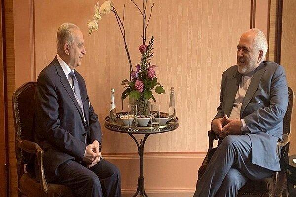 دیدار وزیر امور خارجه عراق با ظریف در مونیخ