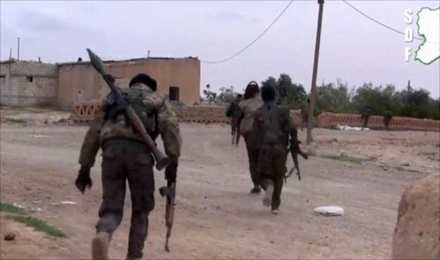 نیروهای کرد سوریه وارد شهر الطبقه، دروازه غربی رقه شدند
