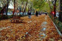 جمع آوری بیش از 2300 تن برگ پاییزی در اصفهان