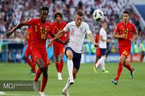 نتیجه نیمه اول بازی بلژیک و انگلیس