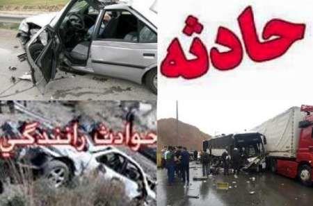 یک کشته و دو مجروح در واژگونی خودرو سواری در محور کوهپایه-سجزی