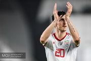 نتیجه بازی فوتبال ایران و عراق در نیمه نخست