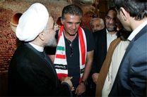 دیدار اعضای تیم ملی فوتبال با رئیسجمهور