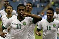 بازیکنان تیم ملی فوتبال عربستان ۲۰ هزار دلار پاداش می گیرند