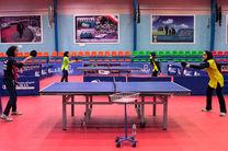 صعود تیم ملی پینگپنگ بانوان به فینال بازیهای باکو