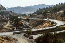 جاده جدید سنندج ـ مریوان به بهره برداری رسید