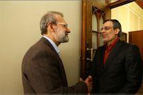 دیدار نوروزی ظریف و فرهادی با رئیس مجلس