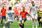 اسپانیا در هیچ یک از بازی های خود خوب بازی نکرد