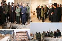 بازدید استاندار کهگیلویه و بویراحمد از پروژههای سپاه فتح