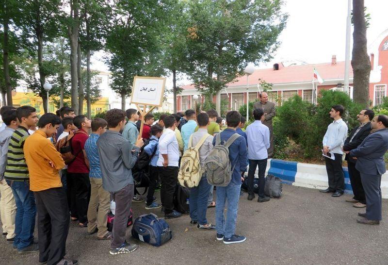 اعزام دانش آموزان گیلانی به اردوی بنیاد علوی