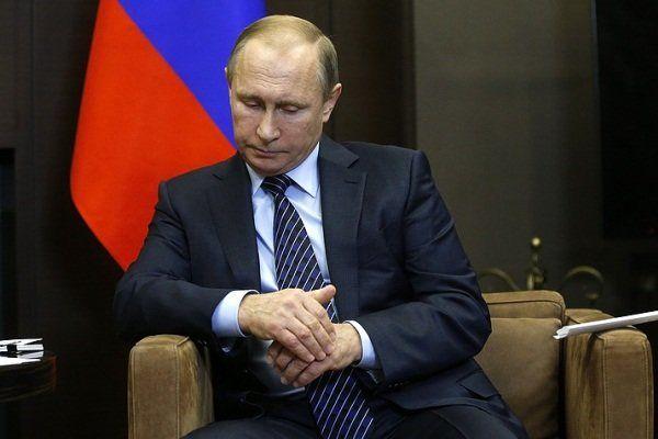 پوتین به خانواده قربانیان حادثه هواپیمای روسی تسلیت گفت