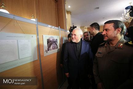 افتتاح نمایشگاه «نقش وزارت امورخارجه در دفاع مقدس»