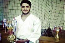 آرزوی کاراته کار هرمزگانی برای تمرین با همسر قهرمانش