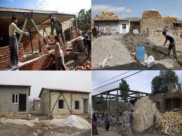 پایان شهریور بازسازی واحدهای مسکونی روستایی مناطق زلزلهزده تمام می شود