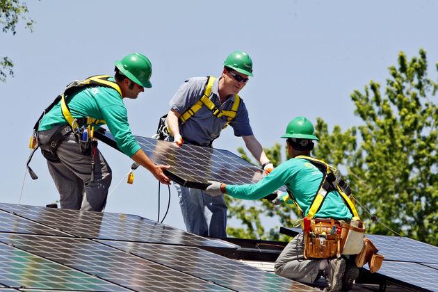 بزرگترین پشت بام خورشیدی دنیا در لاس وگاس ساخته می شود