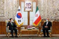 دیدار و گفتگو نخست وزیر کره جنوبی با قالیباف