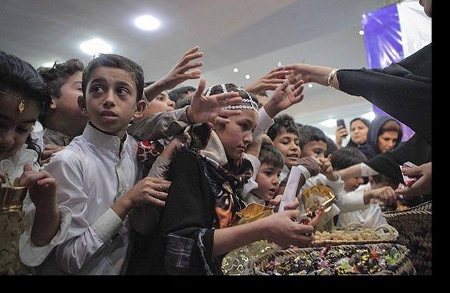 مراسم سنتی گرگیعان در خوزستان برگزار شد
