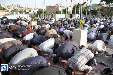 اقامه نماز عید سعید فطر در سنندج