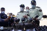 نمایشگاه کشفیات پنجمین طرح ظفر پلیس تهران