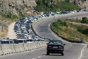 محدودیت ترافیکی جاده چالوس