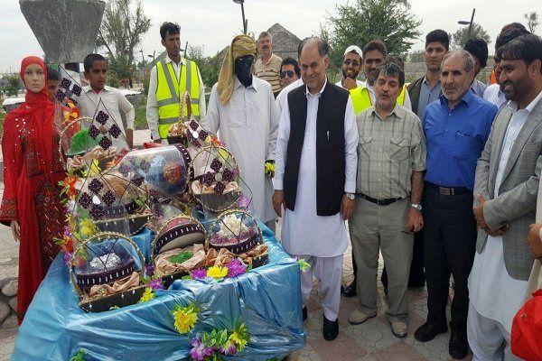 بازدیداستاندار سیستان وبلوچستان از ستاد تسهیلات نوروزی بخش زرآباد