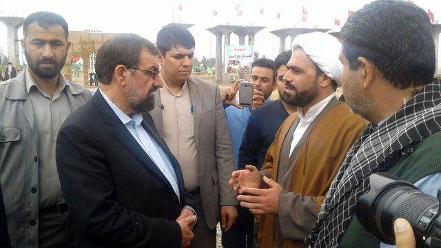 بازدید و روایت محسن رضایی از منطقه عملیاتی فتحالمبین