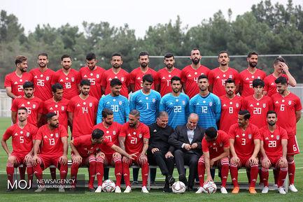تمرین تیم ملی فوتبال - ۲۱ مهر ۱۳۹۷