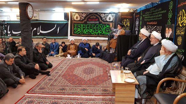 مراسم عزاداری شهادت فاطمه(س) در بیت نماینده ولی فقیه در گیلان برگزار شد