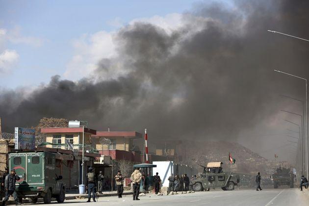 حمله انتحاری در افغانستان