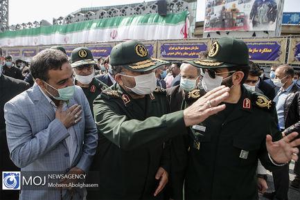 چهارمین مرحله رزمایش همدلی و کمک مومنانه سپاه
