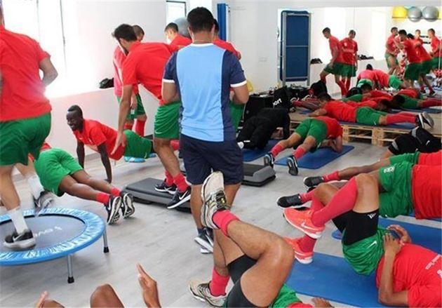 اردوی تیم حقیقی در لوسو و سفر به اسپانیا پایان یافت