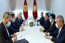 رفاه، امنیت و آرامش مردم قرقیزستان برای کشورمان با اهمیت دارد
