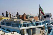 توقیف 4 میلیارد ریال کالای قاچاق در پارسیان