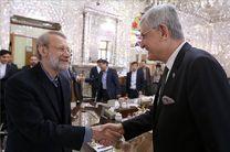 رئیس کمیسیون امور خارجه مجلس ترکیه با رئیس مجلس دیدار کرد