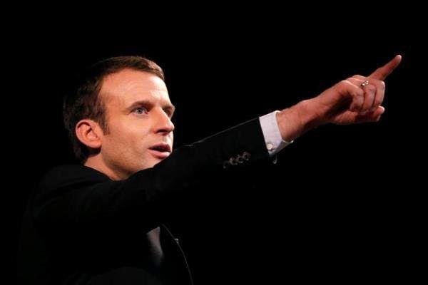 نامزد انتخابات ریاست جمهوری فرانسه با مرکل دیدار کرد