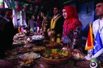 جشنواره غذای ملل در مشهد برگزار شد