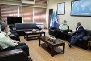 دیدار سردار اشتری با رئیس سازمان هواپیمایی کشوری